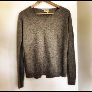 Classic Autumn Cashmere gray sweater M